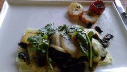 A breakfast - Smoked Marlin Fritatta