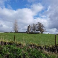 Old Kilcullen Round Tower and High Cross