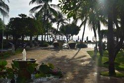Average hotel, amazing staff and beautifully manicured territory