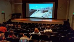 Pre movie slide show of local scenery.