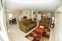 sandy shores - 3 bedroom condo/living area