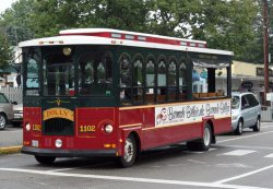 The Ogunquit Trolley