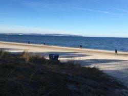 Ausblick zum Strand