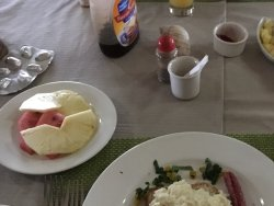 Full breakfast sets you up for the day