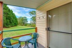 Each cabin as its own private verandah