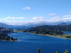 The Llao Llao Hotel and Moreno Lake
