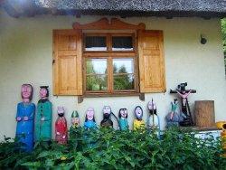 Kashubian hut in Jaglie