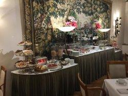 Breakfast buffet, view 2, Hotel d'Aubusson