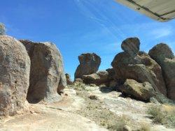 Camping, hiking, rock climbing