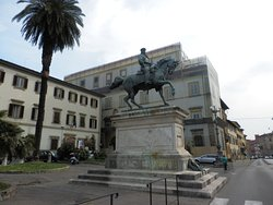 Piazza Garibaldi a Pistoia