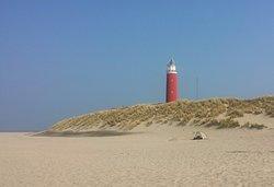 Vuurtorenweg Texel Beach