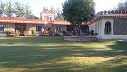 nature friendly resort located near to pushkar lake.
