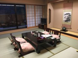 Traditional Japanese Style hotel with stunning view