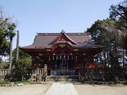Main Building of Iioka Hachimangu