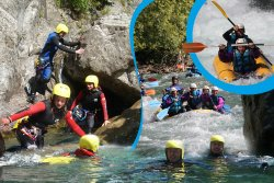Rafting pavillon des Sensations