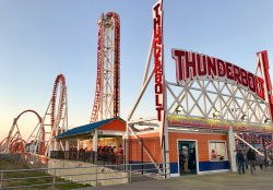 Thunderbolt Roller Coaster
