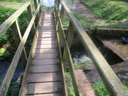 bridge over water supply