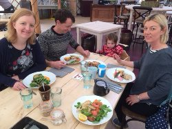 A fantastic family lunch!