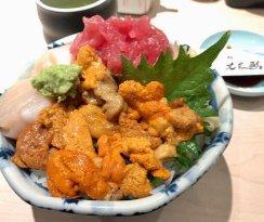Hokushin Sushi Sendai Eki first floor
