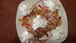 very berry crepes - very yummy!!!