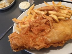 Best fish and chips in the UK