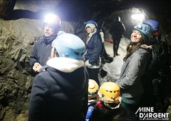 Visite guidée de la Mine d'Argent du Fournel