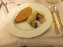 Cotoletta con patate