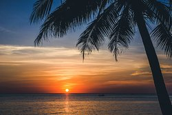 Phu Quoc breathtaking sunset. (251456867)