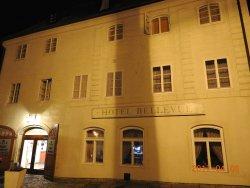 老城中的老建築旅館