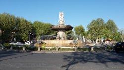 Statue de Paul Cezanne
