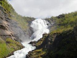 Flaamsbana, водопад