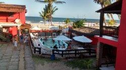 Pousada na praia de Guaibim, Valença-Bahia