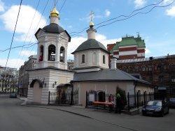Церковь Сергия Радонежского в Крапивниках
