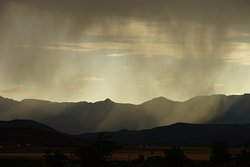 Karoo thunderstorm from the deck