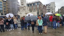 Staring point Dam square