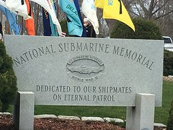 US Submarine Veterans of WWII National Memorial East