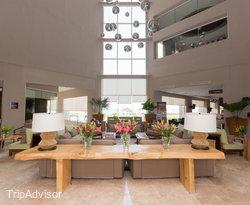 Lobby at the Hilton Garden Inn Boca del Rio Veracruz