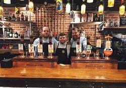 The bar team
