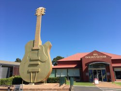 The Big Golden Guitar Tourist Centre