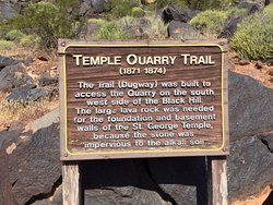 St. George Temple Quarry Trail