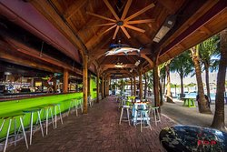 Square Grouper Tiki Bar Jupiter Inlet