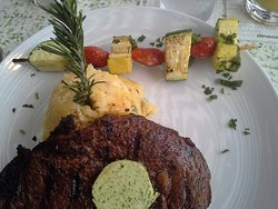 Killer steak and lobster sammy!