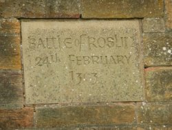 Battle of Roslin Memorial Cairn