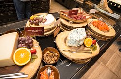 Scali goes wild Sunday brunch - Cold cuts & cheese