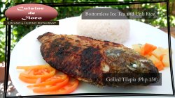 Solo Meal - Grilled Tilapia