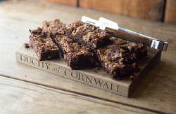 In our award-winning cafe, all our cakes are home-made on the premises