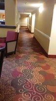 hallway to my room 1st floor