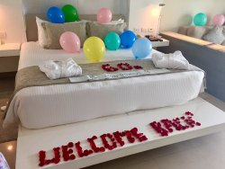 A Special Birthday Welcome---complete with Balloons!!