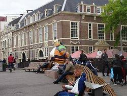 Standbeeld Haagse Harry