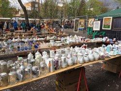 柏林墙公园跳蚤市场